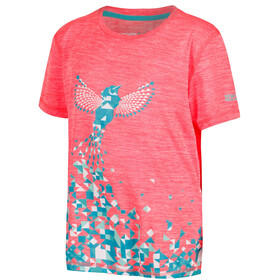Regatta Alvarado IV T-Shirt Girls Fiery Coral